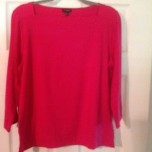 NWT Talbots Square Neck Top